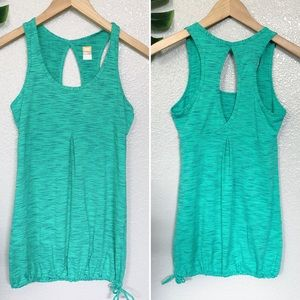 Lucy green and blue workout tank size S